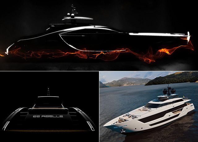 Nuovi progetyi yachts gruppo ferretti