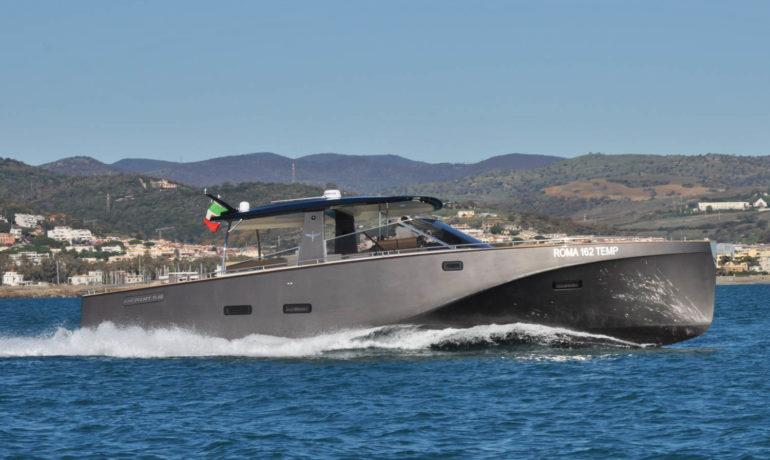Heron 56x airone yacht