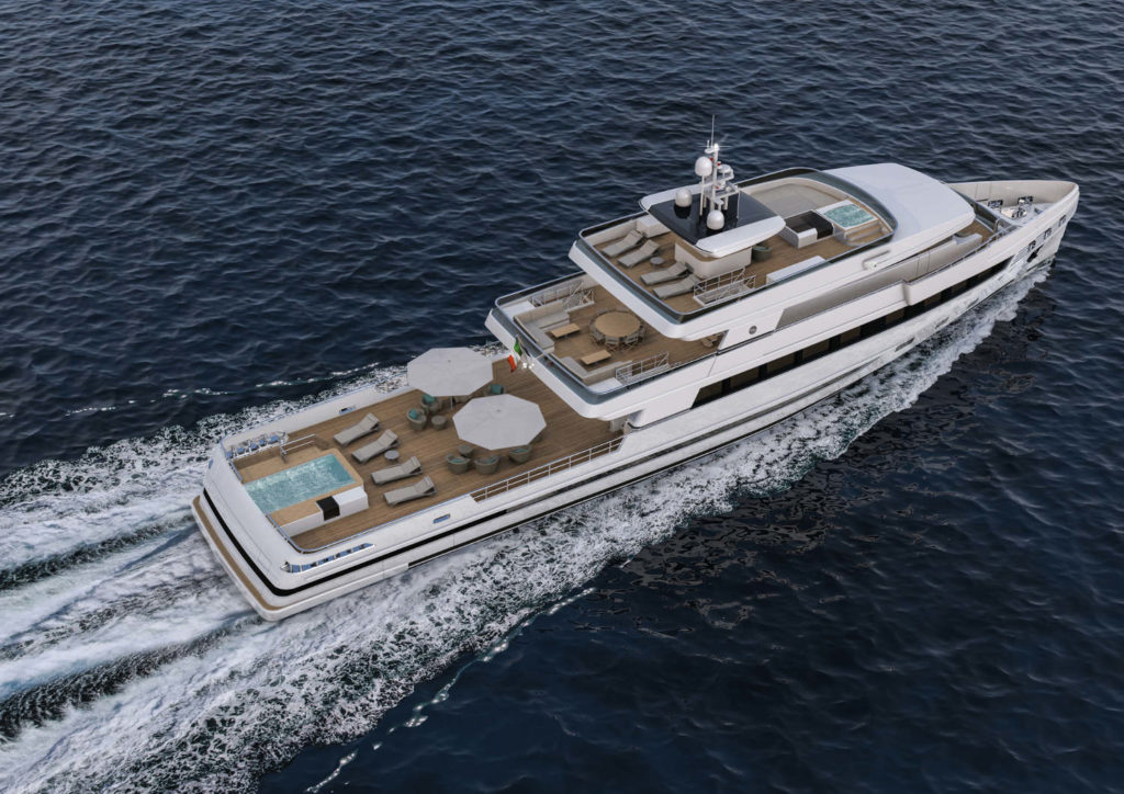 Rosetti Superyachts 48m Supply Vessel