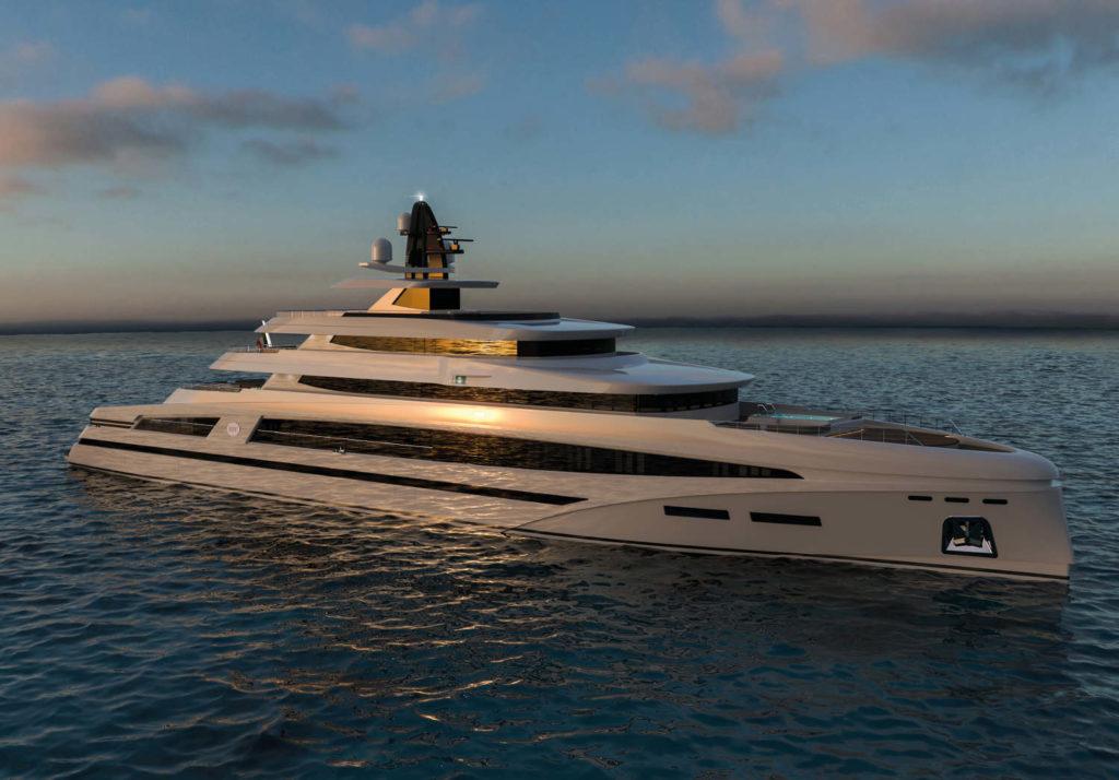 Rosetti 85m Superyacht