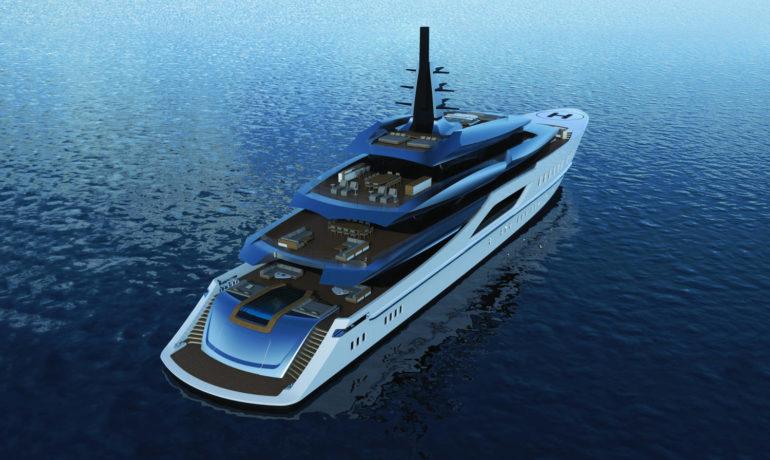 Tankoa S801 yacht poppa