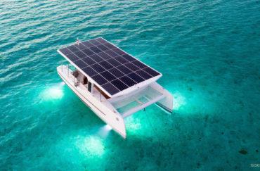 Soel Yachts SoelCat 12 solar electric catamaran