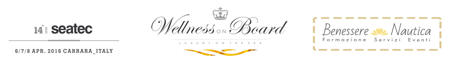 Wellness on Board Benessere Nautica Seatec 2016