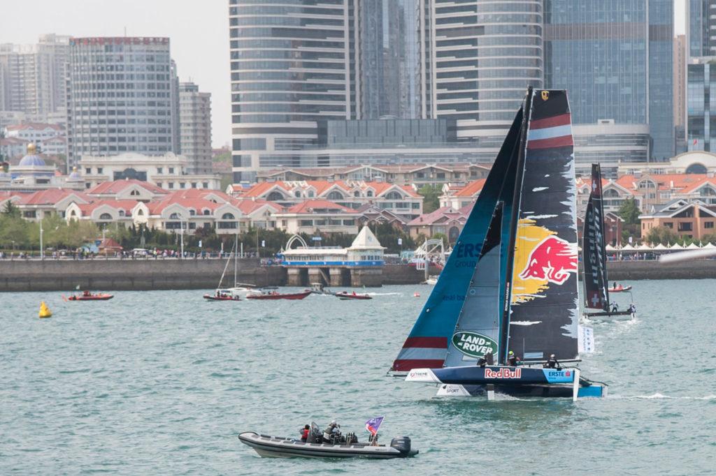 Extreme Sailing Series Qingdao Red Bull