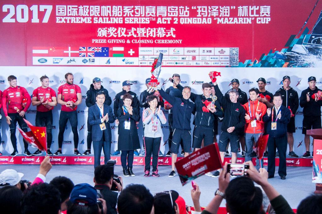Extreme Sailing Series Qingdao premiazione