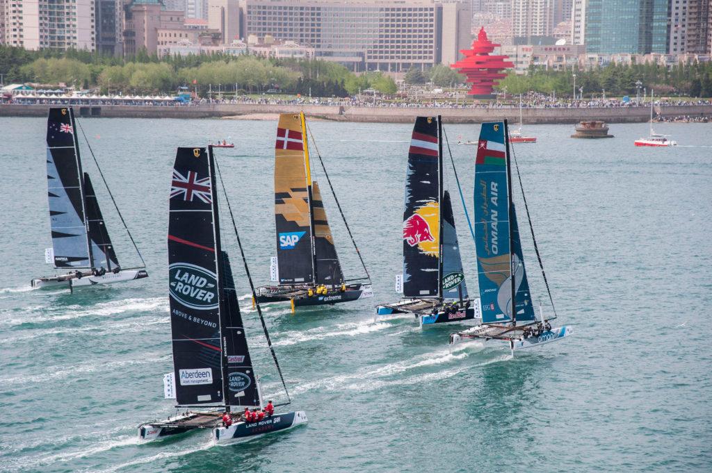 Extreme Sailing Series Qingdao Alinghi