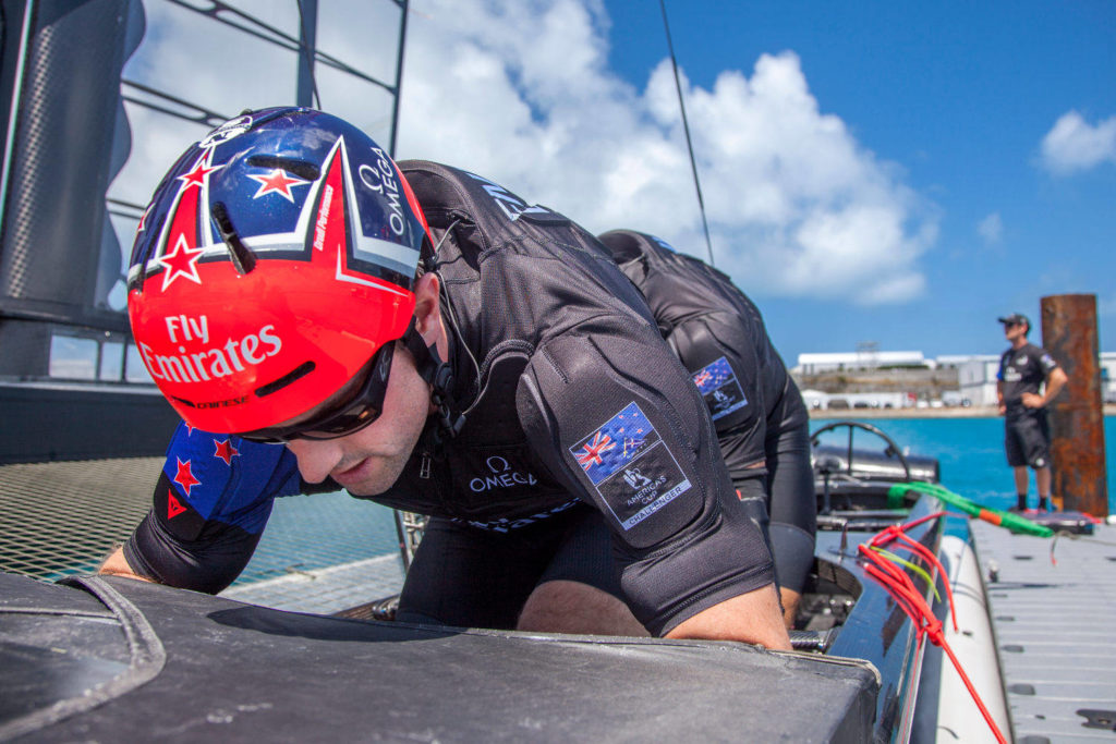 Dainese fornitore team new zealand sea-guard