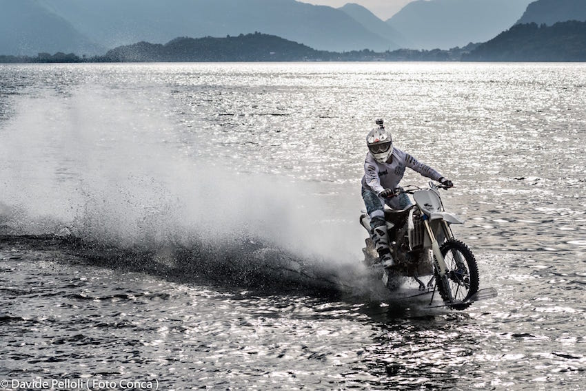Luca Colombo Moto Cross Lago di Como