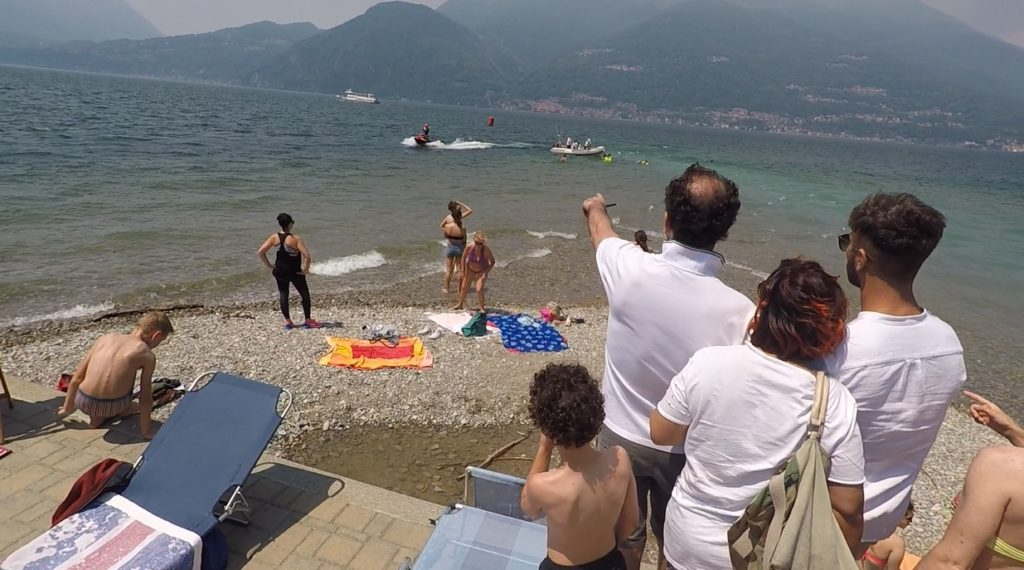 SicuroinMare Soccorso Bellano Lago diComo