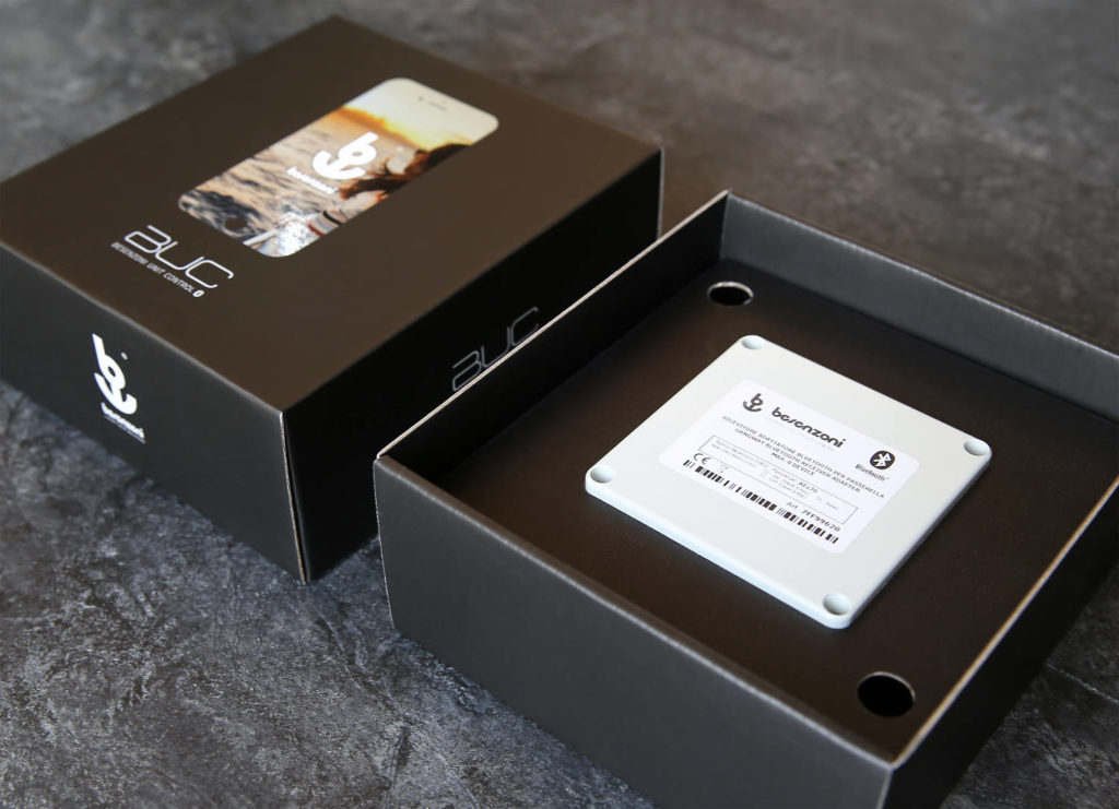 Besenzoni App passerella wireless
