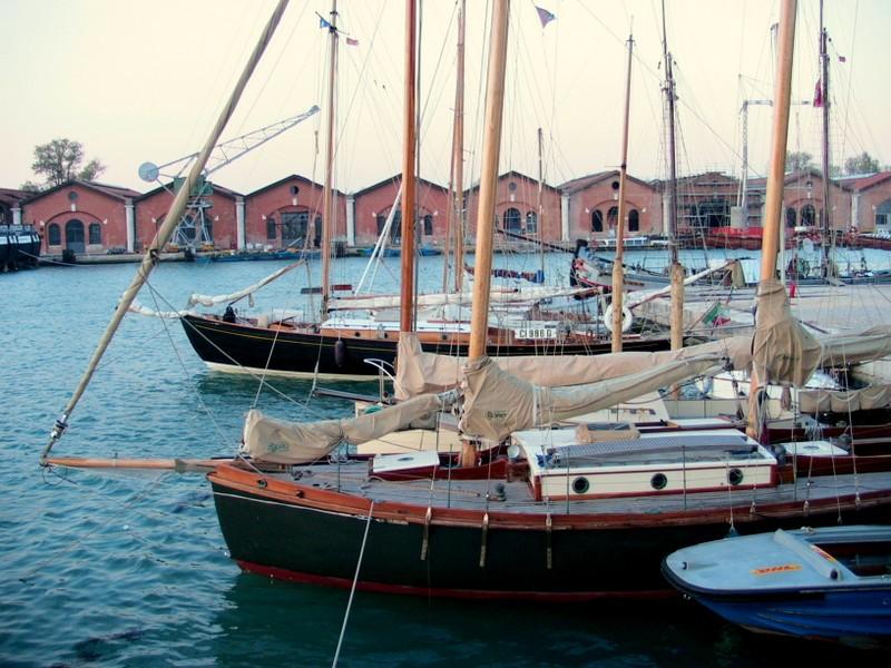 La flotta dei Venturieri in Arsenale a Venezia